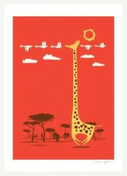 Милые и добрые плакаты делает малайзийский иллюстратор Лим Хинг Сви, aka ILoveDoodle.