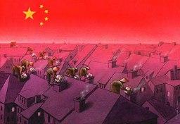 Социальная карикатура Павла Кучинского (Pawel Kuczynski) из Польши