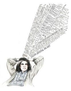 Вэнди Макнаугтон из США рисует иллюстрации в своем уникальном стиле.