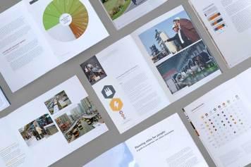 Стиль и печатная продукция для компании ClimateWorks