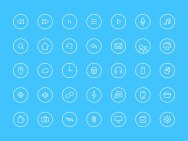 Бесплатные файлы Себастьяна Габриэля, дизайнера из команды Гугл Хрома