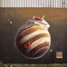 Граффити Ремо Лайнхарда aka Wes21