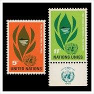 Почтовые марки ООН