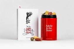 Фирменный стиль и упаковка магазинов подарков Adelie & the Stone