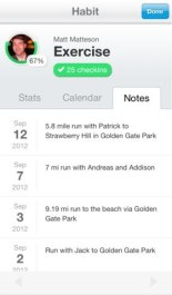 Lift iOS app — отличное приложение для тех, кто хочет изменить свои привычки и выработать новые.