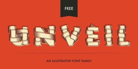 30 бесплатных декоративных шрифтов за 2014 год