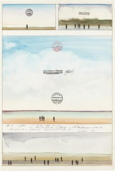 Работы Сола Стейнберга, «писателя, который рисует»