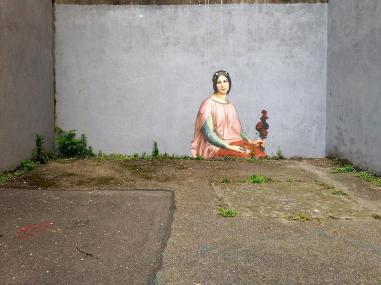 Стрит-арт француза Жульена де Касабьянки