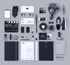 Фирстиль мюнхенской киностудии Blickfang Media.