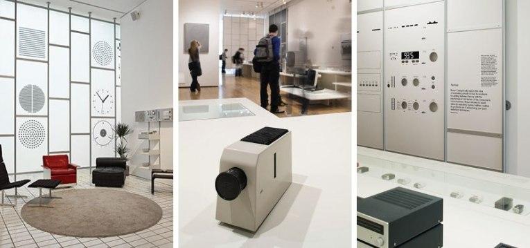 Фотографии с выставки «Less and More» в лондонском Музее дизайна, посвященной работам гениального Дитера Рамса.