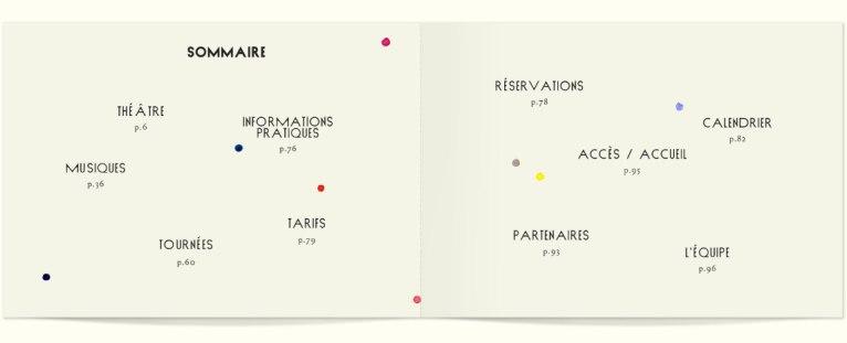 Стиль и афиши парижского Théâtre des Bouffes du Nord
