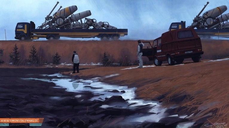 Иллюстрации Саймона Сталенхага
