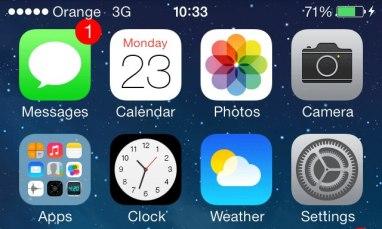 Одна из замечательных мелочей в iOS7 — иконка часов.