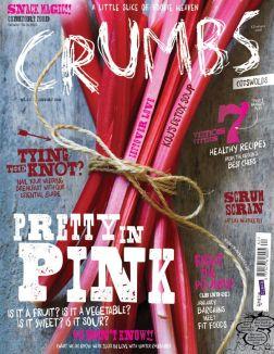 Коллекция аппетитных обложек кулинарного журнала Crumbs