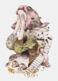 Серия сюрреалистических иллюстраций Андреа Вон