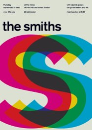 Swissted — плакаты рок-концертов в швейцарском стиле