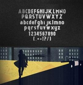 Канкин — бесплатный акцидентный шрифт с кириллицей