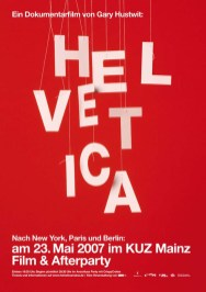 Плакаты к документальному фильму Гари Хастуита «Гельветика»