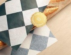 Айдентика и дизайн магазина для австралийской пекарни-булошной.