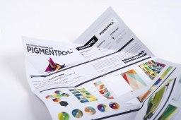 Фирменный стиль немецкой полиграфической компании PIGMENTPOL