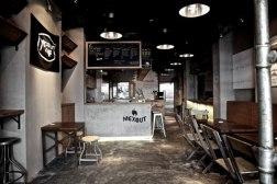 Фирстиль ресторана быстрой мексиканской еды в Сингапуре