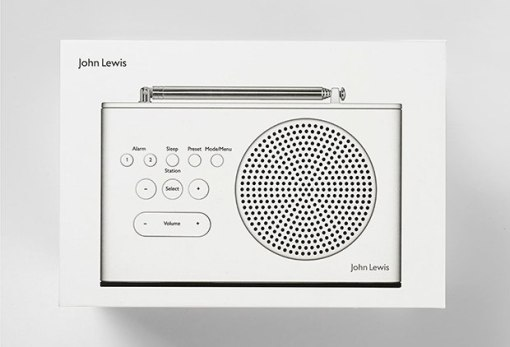 Упаковка радиоприемников «Спектрум» в стиле Дитера Рамса, агентство «Пентаграм»