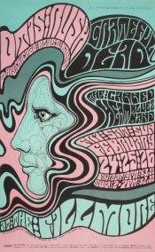 Психоделические плакаты Уэса Уилсона (Wes Wilson)