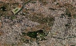 Спутниковые снимки под углом