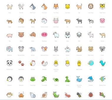 Emoji от Streamline Icons — 780+ векторных эмоджи в иллюстративной стилистике.