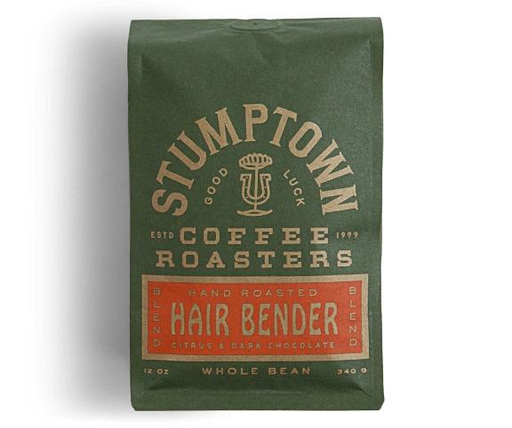Упаковка марки кофе Stumptown Coffee Roasters