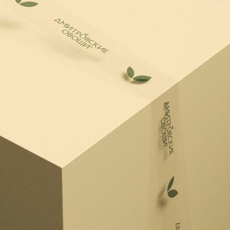 Стиль и упаковка «Дмитровских овощей»