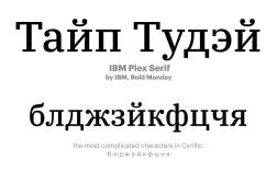 Лучшие кириллические шрифты 2018 года