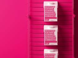 Айдентика и дизайн упаковки продукции Брянского молочного комбината
