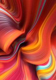 Красочные трёхмерные абстракции Дэнни Айвана из Порто