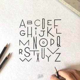Леттеринг и типографика Стефана Лопеса