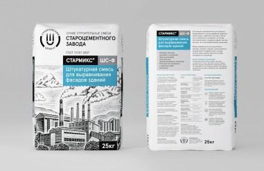 Упаковка строительных смесей «Стармикс»