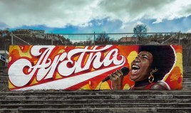 Леттеринг-граффити Александра «Стэна» Шиманова из Нижнего Новгорода