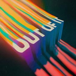 Глитчевая типографика Невана Дойла из Лос-Анджелеса