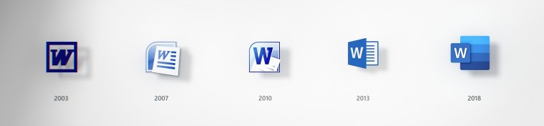 Новые иконки продуктов Microsoft