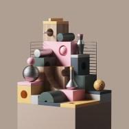 Трёхмерные абстрактные композиции Питера Тарки из Лондона
