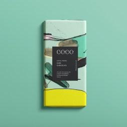 Марка шоколада COCO Chocolatier