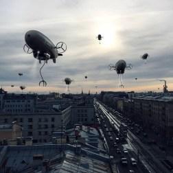 Работы ксеноурбаниста Вадима Соловьёва