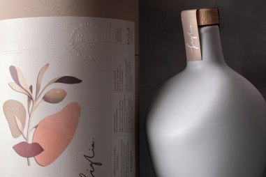 Дизайн бутылок ограниченной серии оливкового масла Figlia