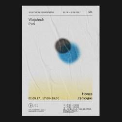 Серия плакатов для варшавской галереи современного искусства LETO
