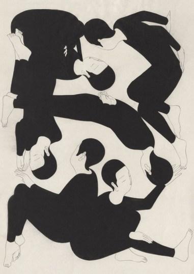 Сюрреалистичные чёрно-белые иллюстрации Тэхёна Кима — художника и иллюстратора из Сеула