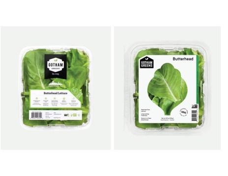 Упаковка зелени Gotham Greens
