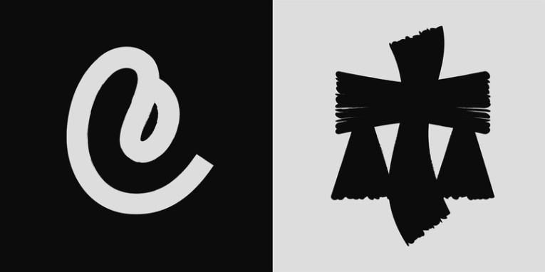«Смелая Кириллица» — выразительные экспериментальные литеры Владимира Аносова из Санкт-Петербурга