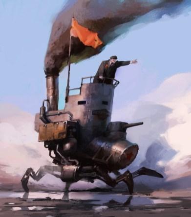 Некоторые работы концепт-художника из Петербурга Владимира Малаховского