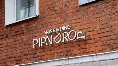 Айдентика, графика и упаковка заведения PIPNDROP