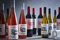 10 винных этикеток с крутой типографикой